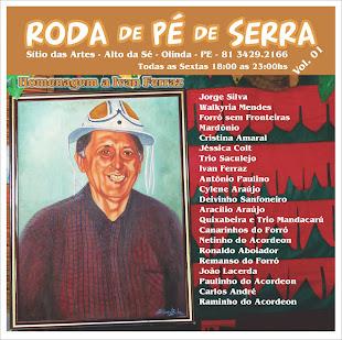 CD Projeto Roda de Pé de Serra Vol. 01