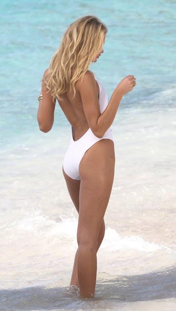 Erin Heatherton – Bikini Photoshoot Candids in St. Barts