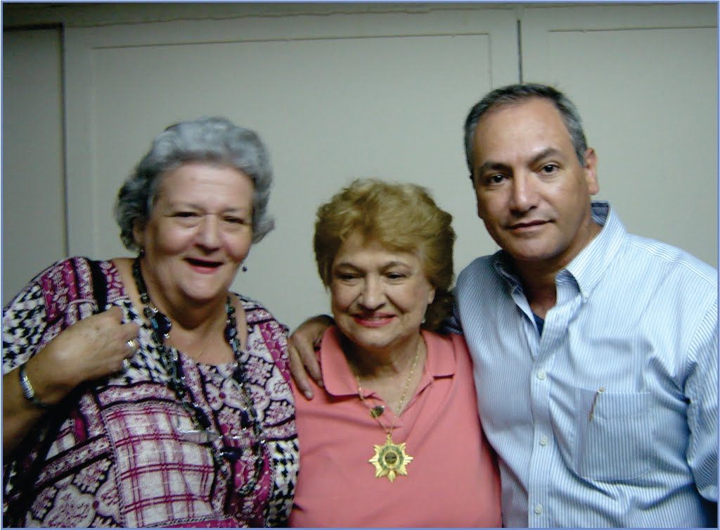 Iraida, Isa y Camilo