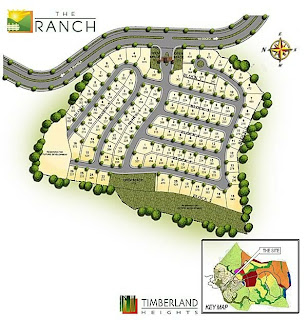 The Ranch at Timberland Heights Quezon City Environs Site Development Map