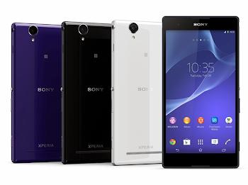 Sony 6 inçlik Xperia T2 Ultra Akıllı Telefonunu Duyurdu