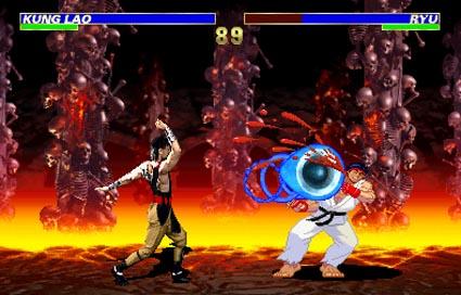 Mortal kombat vs street fighter game download