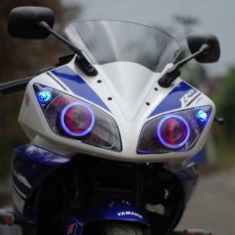 modifikasi lampu motor r15  tahun ini