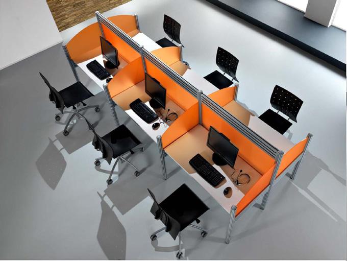 Disenho y muebles muebles de oficina modulares for Mobiliario modular para oficina