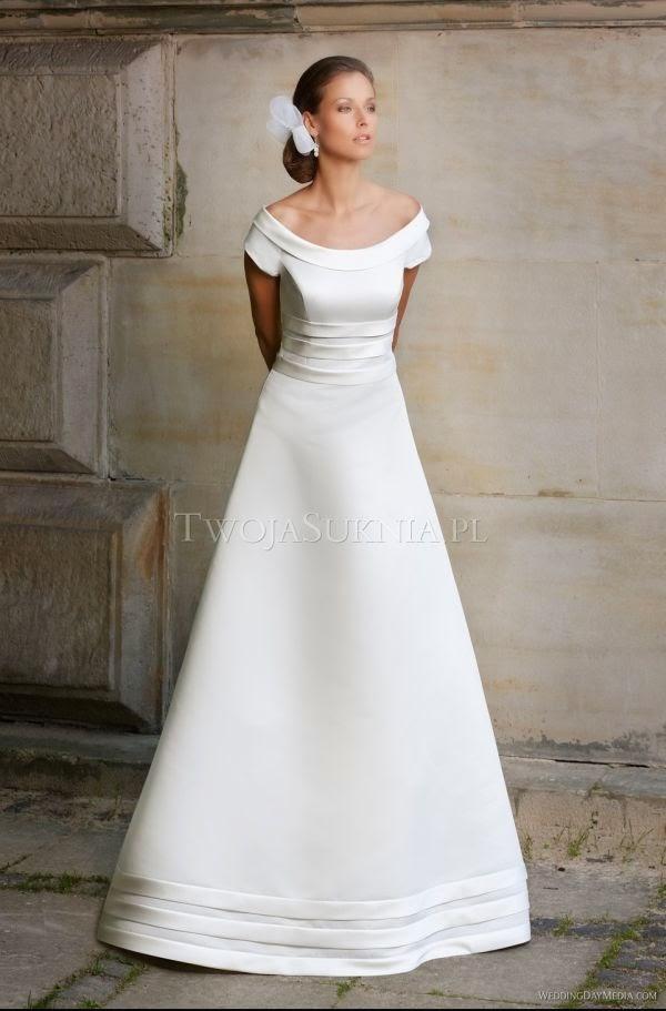 Suknie ślubne Vestido Suknia ślubna O Kroju Litery A Firmy
