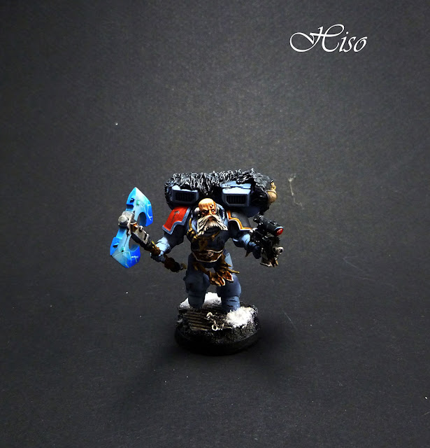 Space Wolf - Rune Priest Jetpack