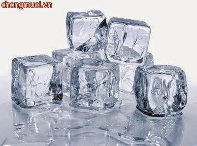 Cách chống muỗi đốt giảm sưng từ nước đá lạnh