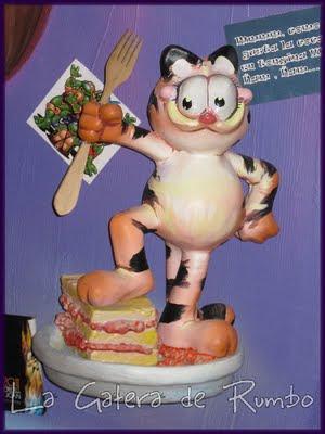 Garfield. H. I. Monjas Santa Faz