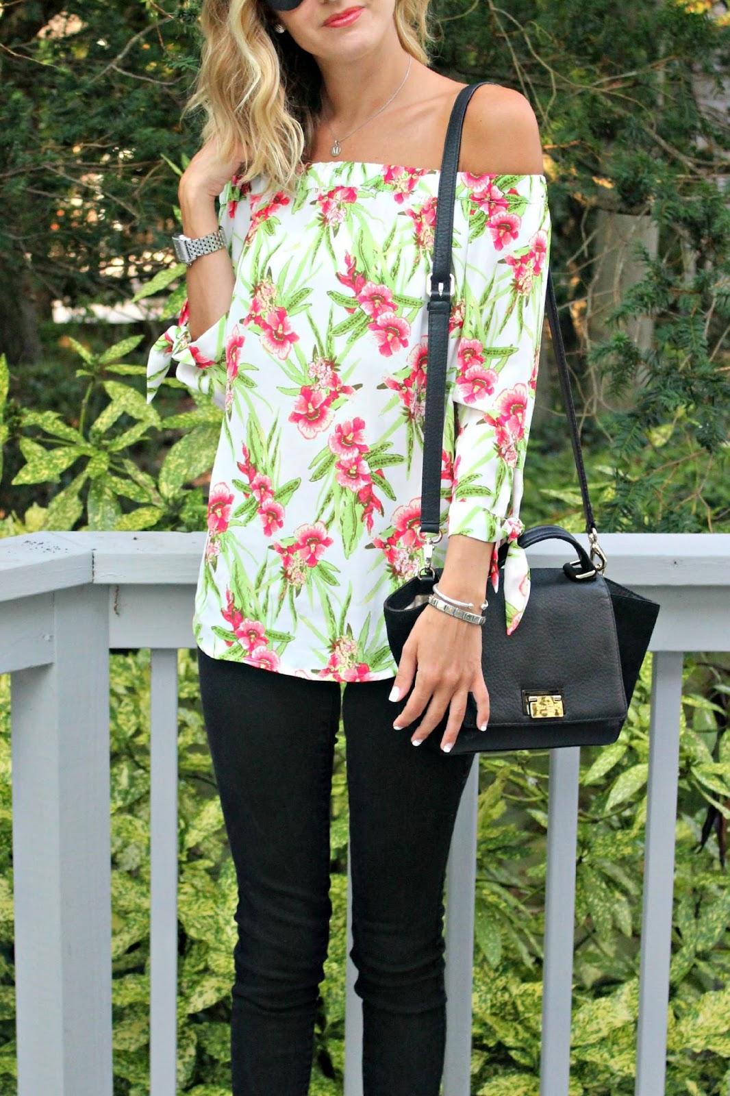 eshakti floral top