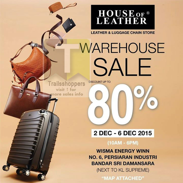 House Of Leather Warehouse Sale 2015 Malaysia