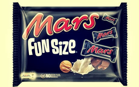 Mars company fun size Mars bar snacks