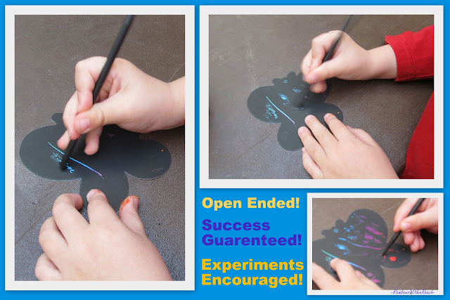 photo of: Scratch Art -- The Big Reveal at RainbowsWithinReach