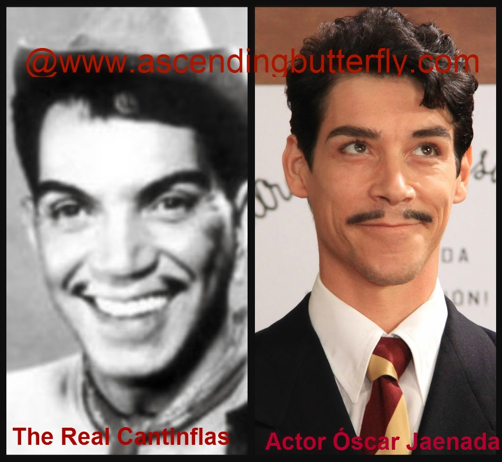 Real Cantiflas vs Oscar Jaenada Collage