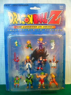 Collectible 12 Figures Dragon Ball Z Serie 1