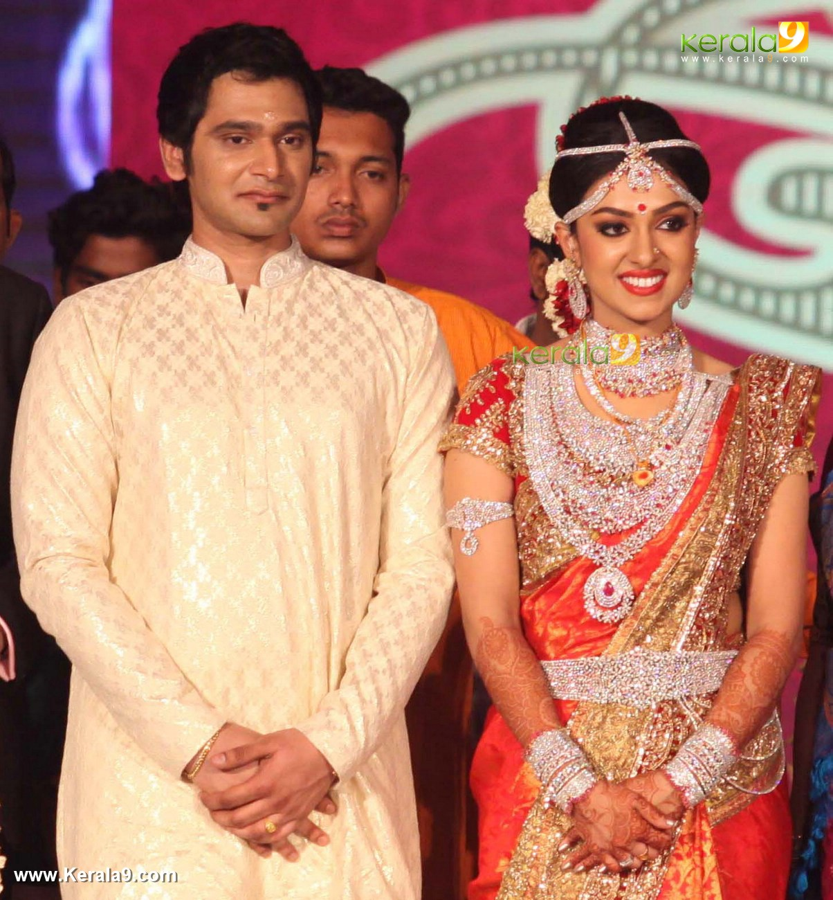 Reception dress for kerala bride happy wedding moments blog