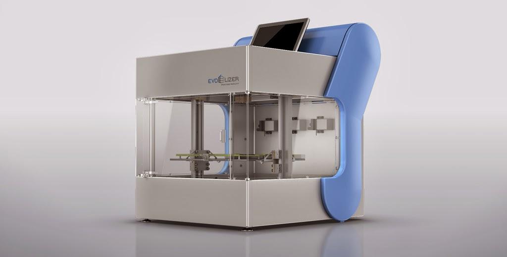 Diy 3d Printing Evolizer Prosumer 3d Printer By Evo Tech