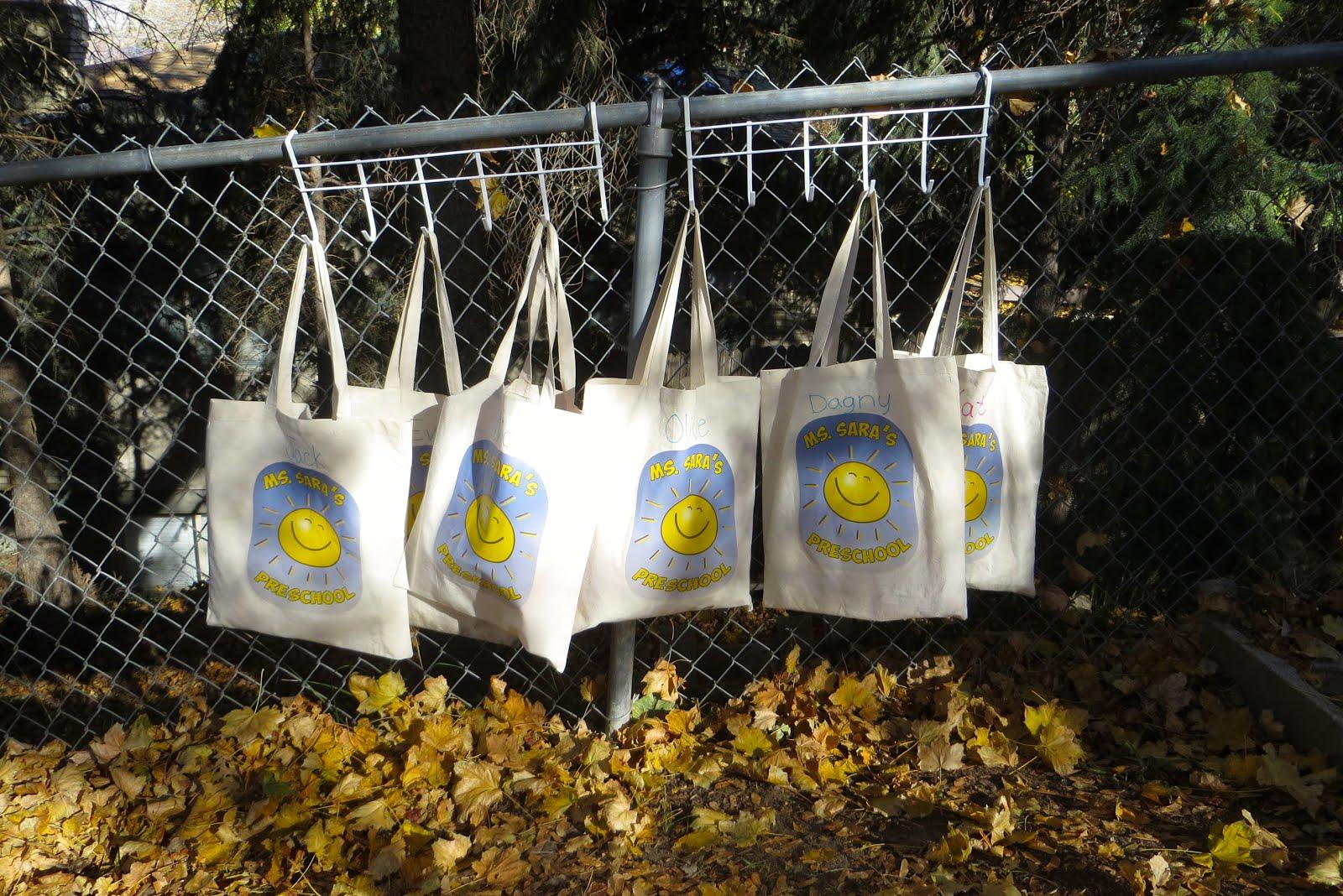 Backyard bags...