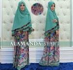 Baju Muslim Gamis Syar'i Alamand GC1082