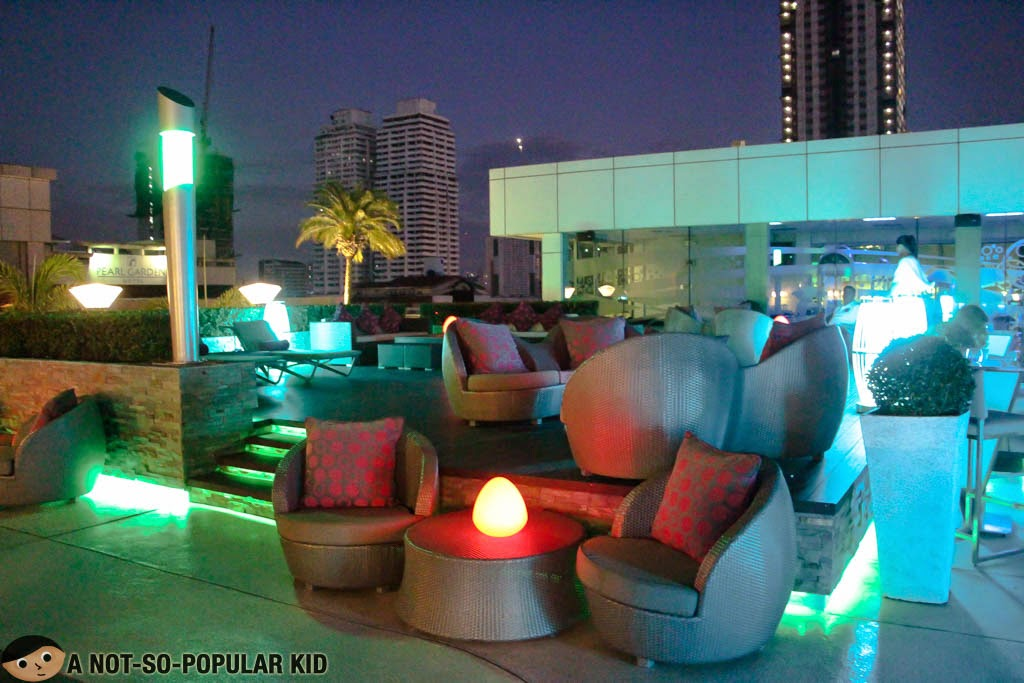 The Sunset Lounge of Pan Pacific Hotel Manila