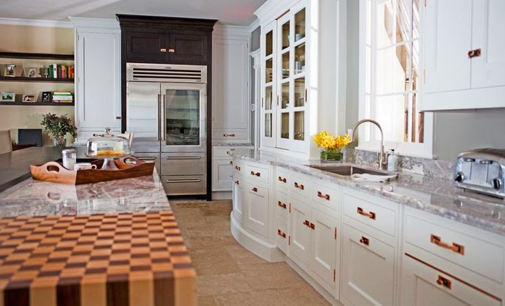 Eye for design decorating with rose gold for Kitchen ideas rose gold