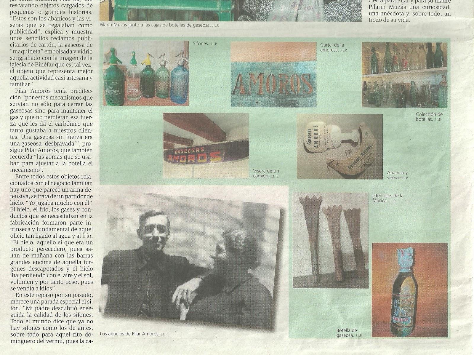 Diario del AltoAragón del 3 de Agosto de 2014 : Pilar Amorós
