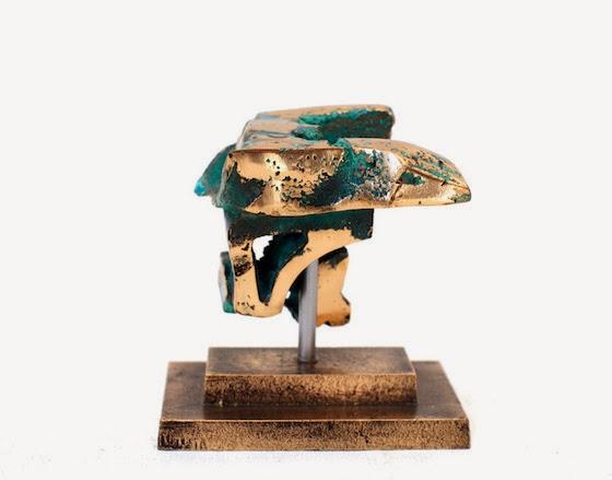 Christel Maria Nolle: Rocky 1. Bronze, unika, 2012