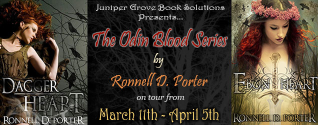 Blog Tour and Giveaway: Odin Blood Series