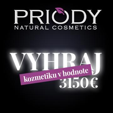 Soutěž o kosmetiku Priody