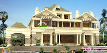 Colonial Style Home Design in Kerala
