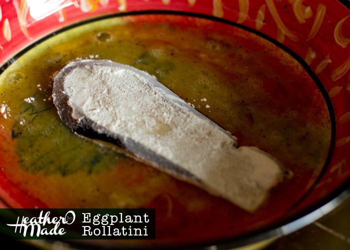 Eggplant Rollatini. meatless. vegetarian. recipe.