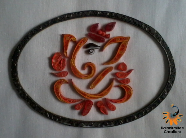 Paper Quilling Ganesha Kalanirmitee Creations