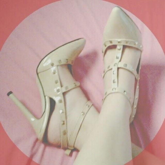 Sapato que comprei no site