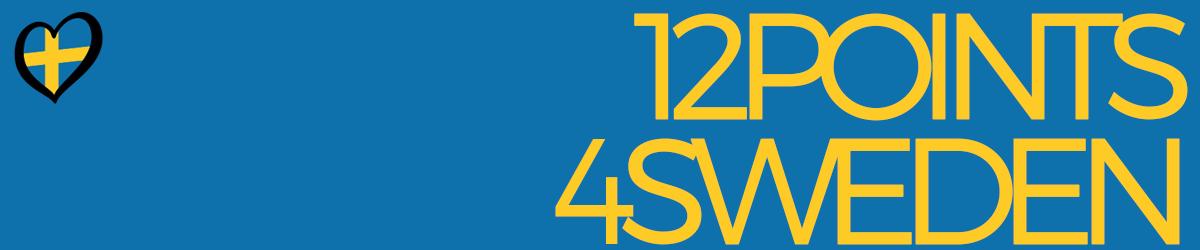 12 points 4 Sweden!