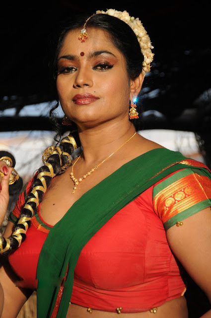 Jayavani Big Cleavage Exposing Photos