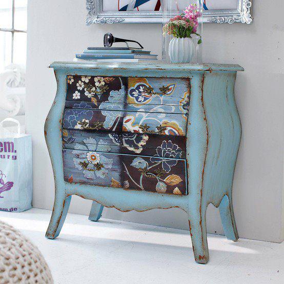 Pontos de interesse moveis antigos recuperados e com charme - Reformar muebles viejos ...