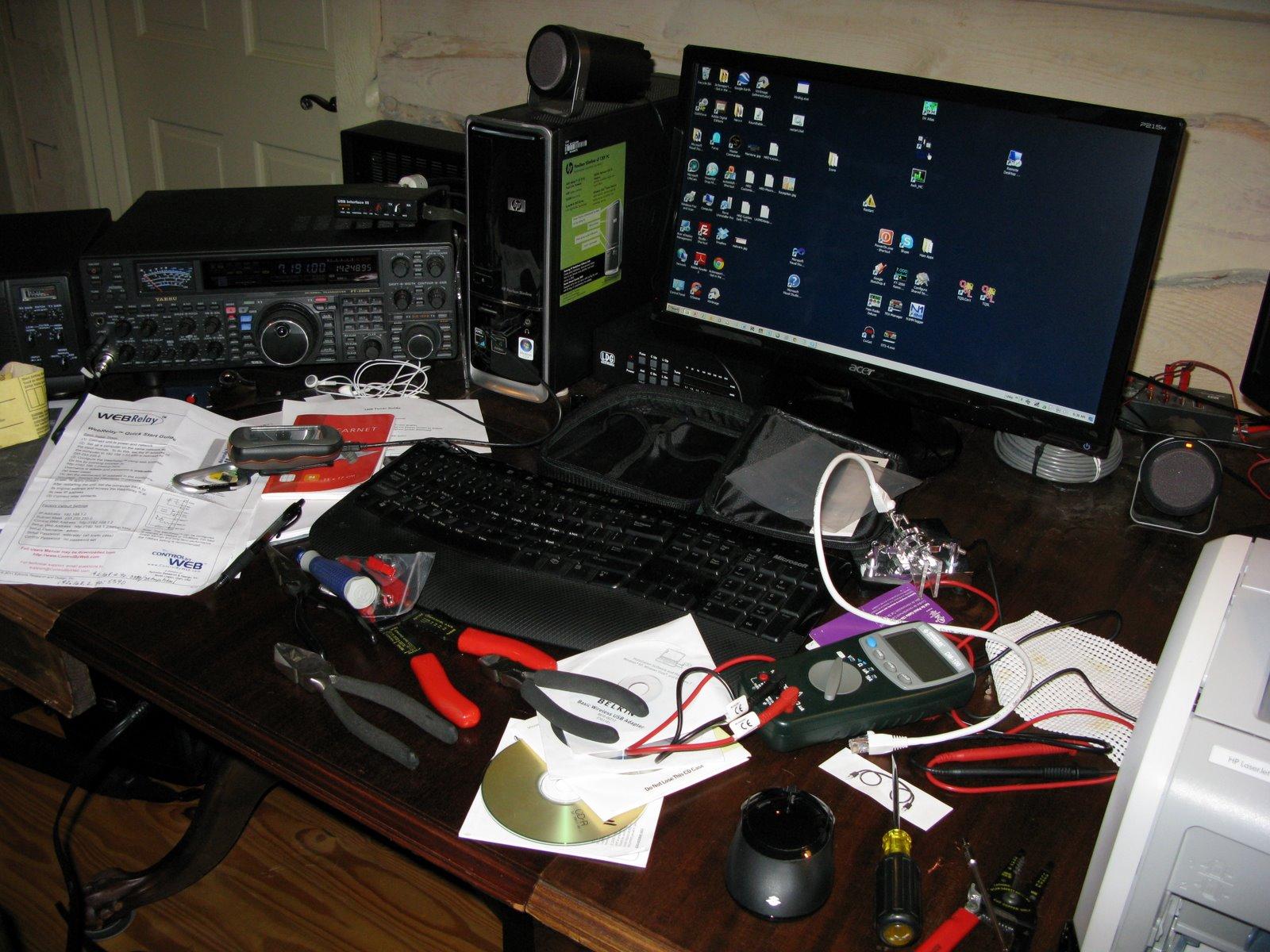 amateur radio electronic workbench  Cottage Electronic Workbench