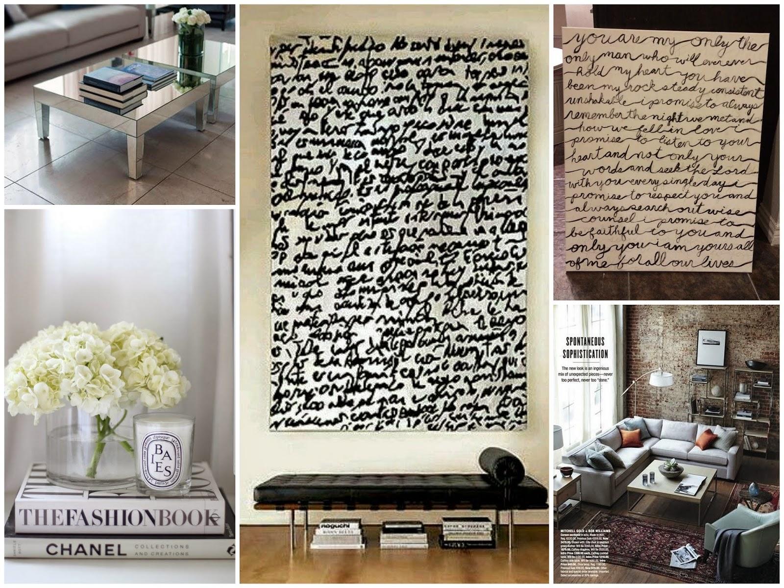 Diy home decor script wall art love mara for Mara home decorations