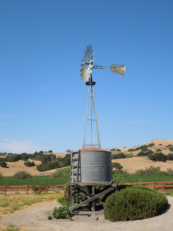 Zaca Mesa Winery water tower