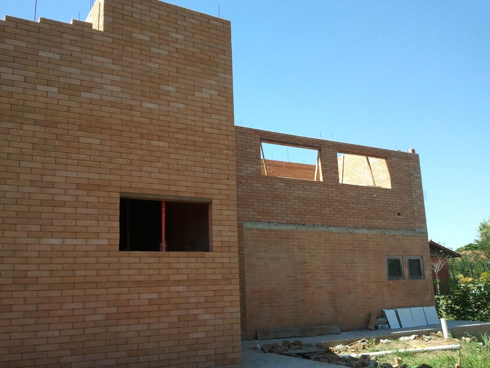 Construindo e Ampliando com Tijolo Solo cimento / Ecológico: Agosto  #0776C4 1600x1200 Banheiro Com Tijolo Ecologico