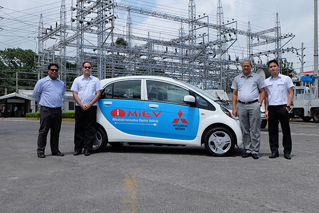 MMPC collaborates with Visayan Electric Company on i-MiEV electric car evaluation