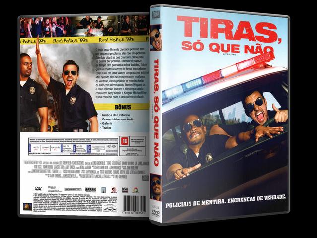 Capa DVD Tiras Só Que Não