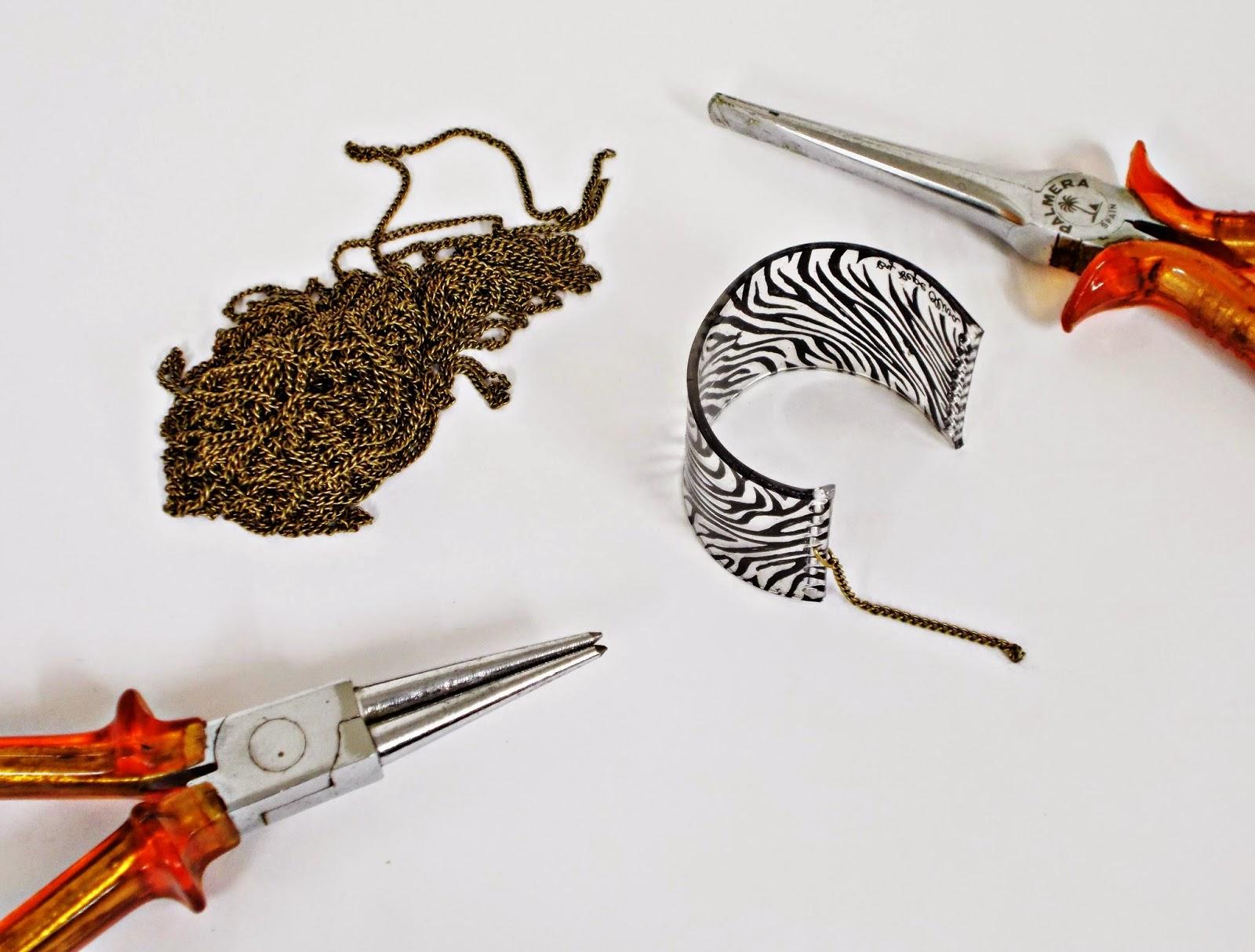DIY-plástico mágico-pulsera-brazalete-bisutería-122