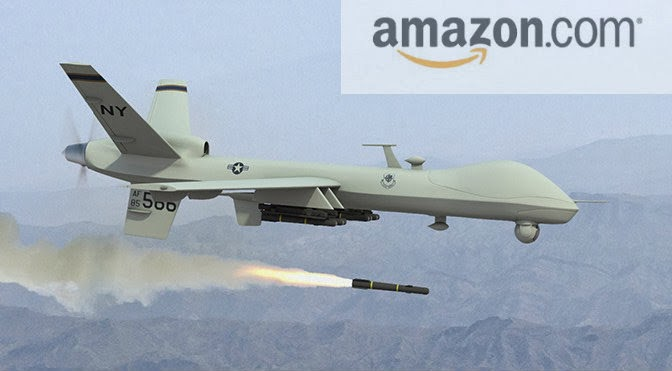 Amazon Drone: il libro dal cielo