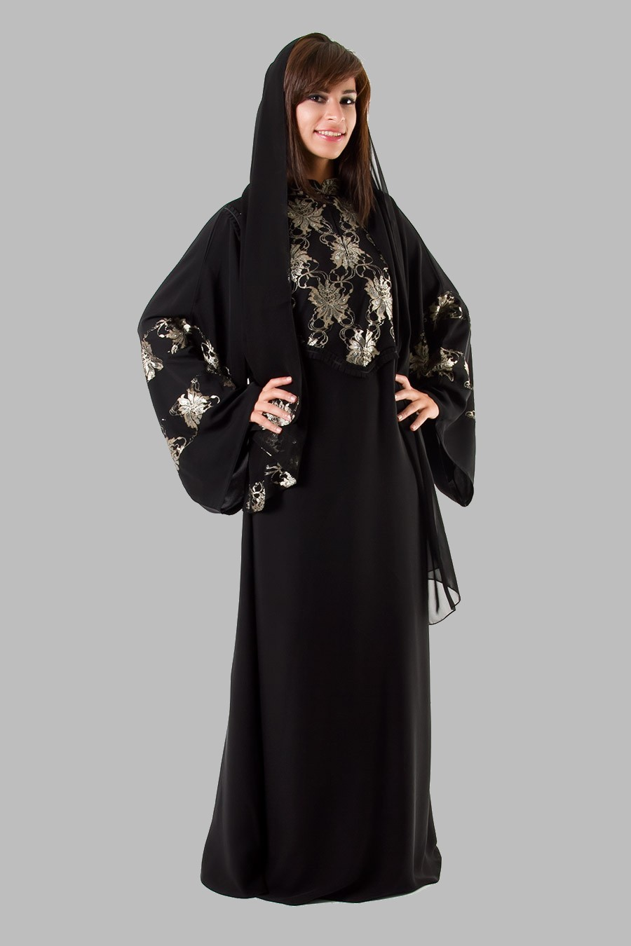 embroidered abaya designs 2013 islamic abaya dress