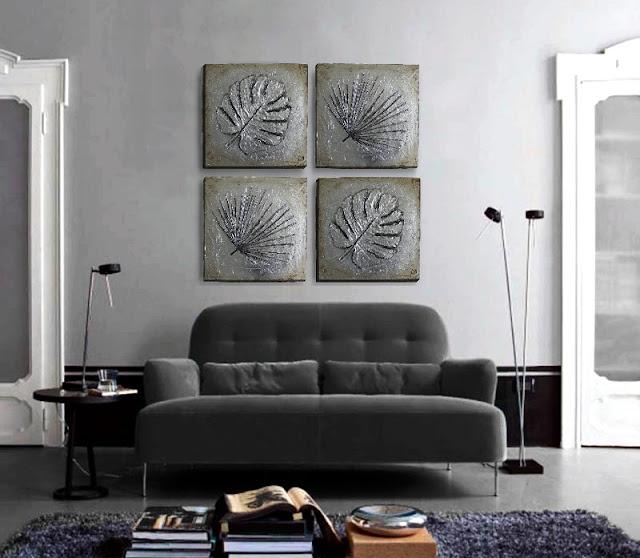 tienda online cuadros decorativos plata