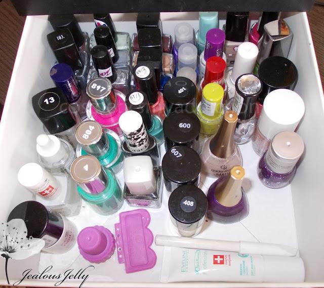 Moja kolekcja lakierów do paznokci :)