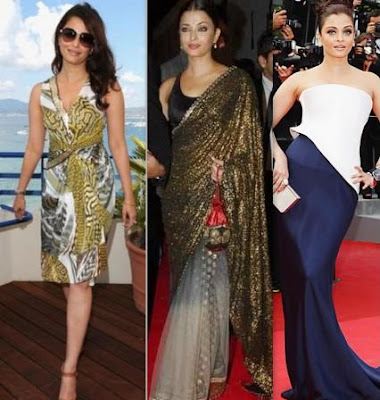 Bollywood Beauties Dress, Saree and Gown Looks
