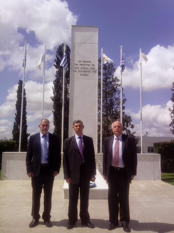 Οι Ευρωβουλευτές της Χρυσής Αυγής στο Τύμβο της Μακεδονίτισσας, γιατί η Κύπρος δεν κείται μακράν…