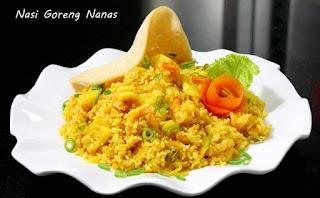 Resep Nasi Goreng Kuning Kunyit Udang Istimewa
