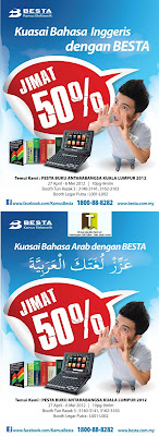 BESTA Electronic Dictionary 50% off